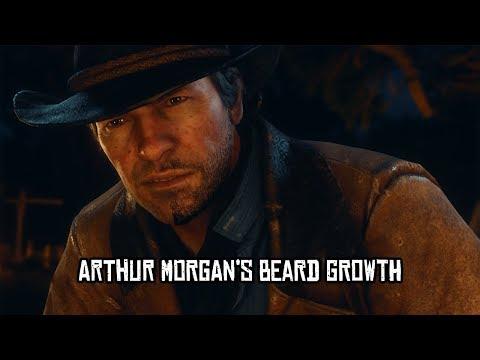 Red Dead Redemption 2 - Arthur Morgan's Beard Growth