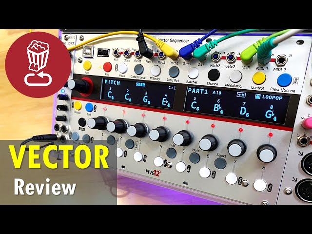 Five12 Vector Eurorack Sequencer // Review and in-depth tutorial