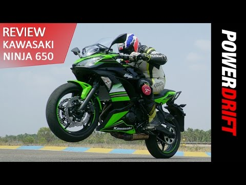 2017 Kawasaki Ninja 650 - A Notch Higher : PowerDrift