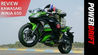 Kawasaki Ninja 650 (2017) - A Notch Higher : PowerDrift