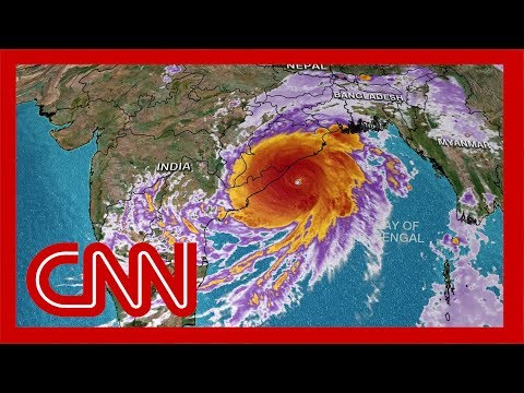 100 million people in the path of Cyclone Fani