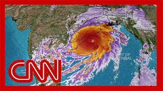 100 million people in the path of Cyclone Fani