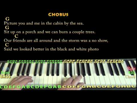 Cabin By the Sea (Dirty Heads) Piano Cover Lesson in G with Chords/Lyrics