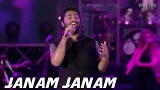 Cover images Janam Janam - MTV India Tour | Arijit Singh Live