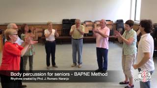 Body percussion for elderly people - BAPNE Method  4