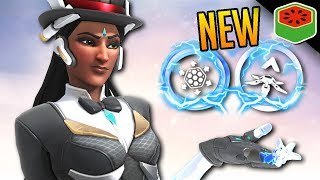 NEW SYMMETRA REWORK IS OP! | Overwatch