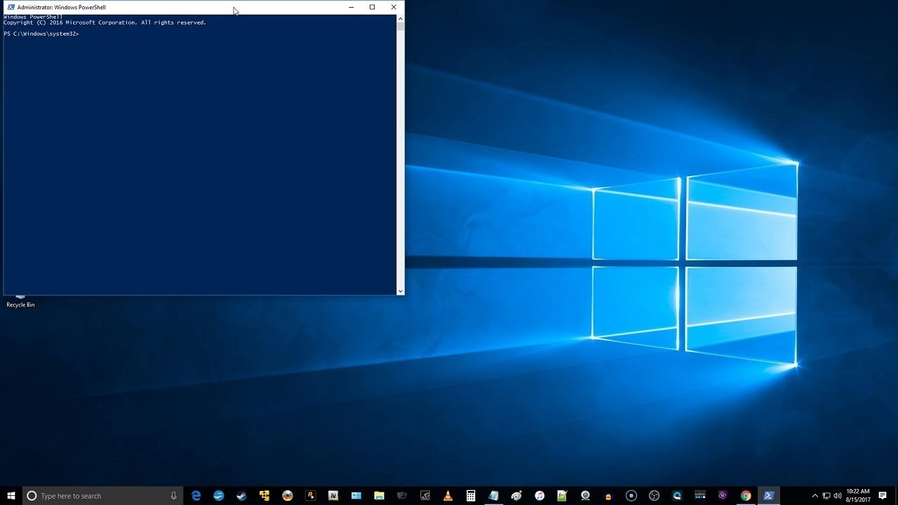 How To Open And Run Elevated PowerShell Prompt In Windows 10