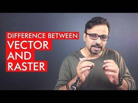 Vector Vs Raster Explained - Urdu / Hindi