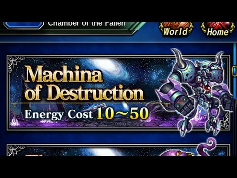 FFBE global aigaion trial elt all missions cleared - full uncut