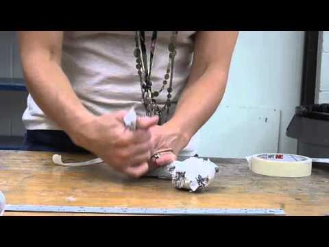 Paper Mache' Snake Demo