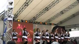 2010年10月31日。青山学院大学女子大生サークルVanillaによる青山祭での...