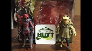Star Wars The Force Awakens Mission 2 Pack Sidon Ithano & First Mate Quiggold Action Figure Review!