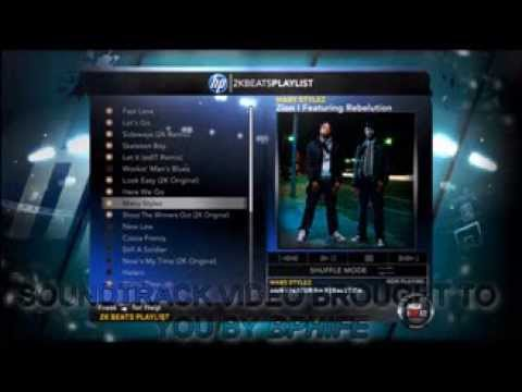 NBA 2K12 SOUNDTRACKS with jump points in descripton
