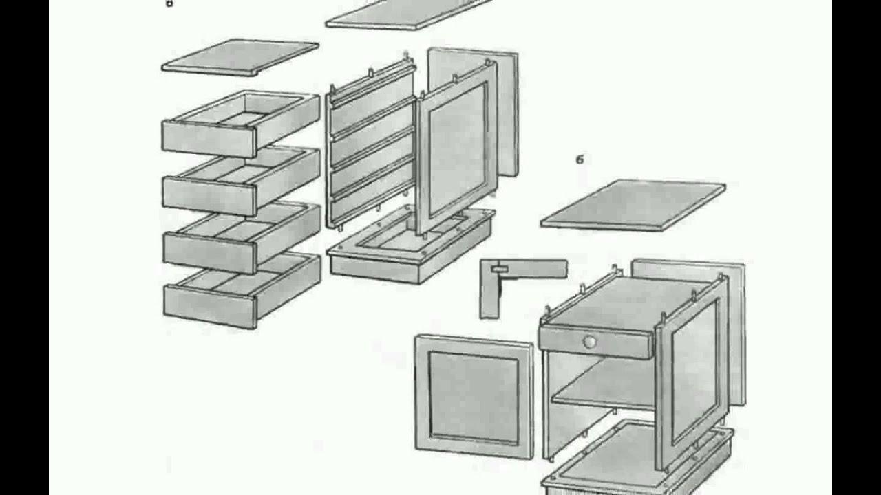 Мебель своими руками чертежи скачать
