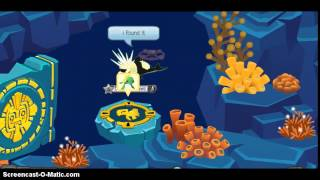 Bubble trouble Hard mode with secret turtle gate Animal Jam