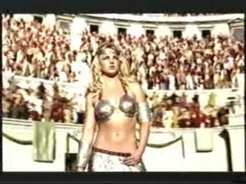 Pepsi Commercial feat. Britney Spears, Beyonce, Pink... Gladiators