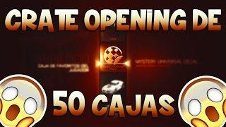 ¡¡ROCKET LEAGUE CRATE OPENING!! | ¡¡ABRIENDO 50 CAJAS EN ROCKET LEAGUE!! [ROCKET LEAGUE]