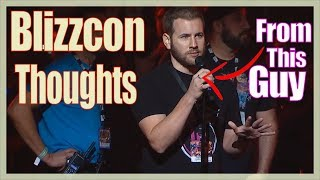 Blizzcon Diablo Thoughts From The