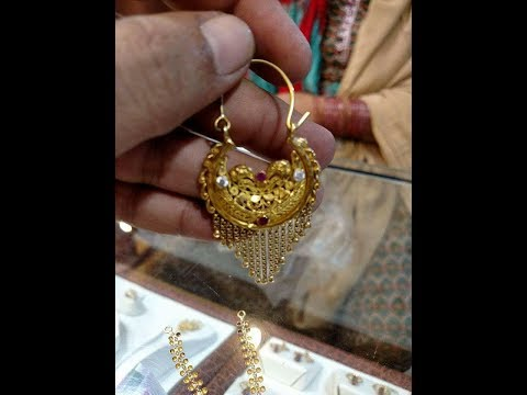 Gold Earrings designs From NEW LAXMI JEWELLERS UK