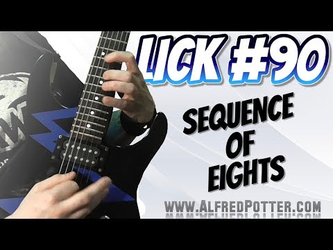 Lick #90 - Sequence of Eights