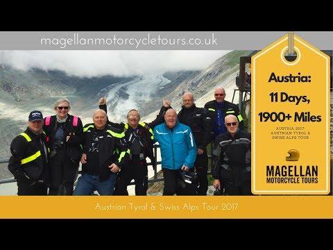 Austrian Tyrol and Swiss Alps Tour 2017