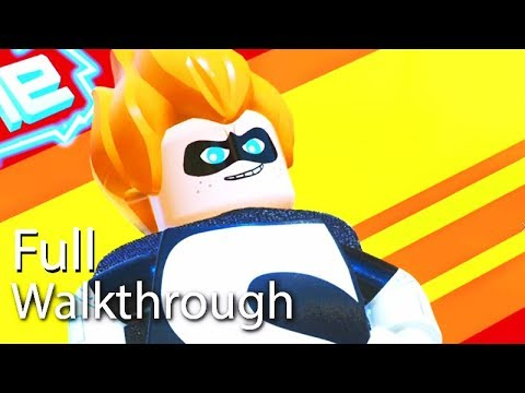 "VILLAIN ""SYNDROME"" Walkthrough (Lego The Incredibles) Post Game Boss Mission 60FPS"