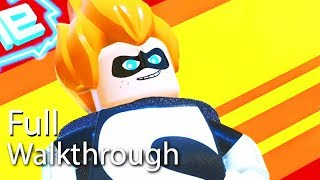"""VILLAIN """"SYNDROME"""" Walkthrough (Lego The Incredibles) Post Game Boss Mission 60FPS"""