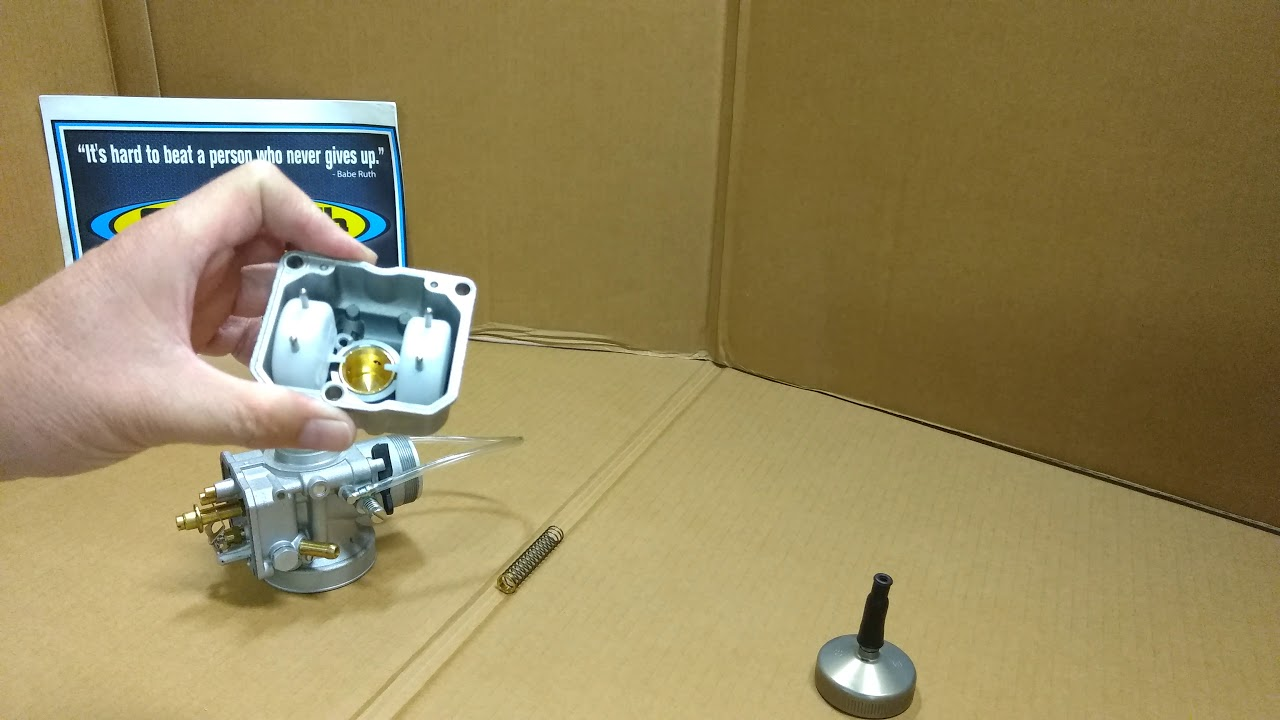 Dellorto VHSH 30mm Carburetor - components and parts