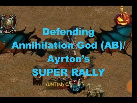 Clash Of Kings : Defending Annihilation God (AB)/Ayrton's Rally : Ancient Battlefield