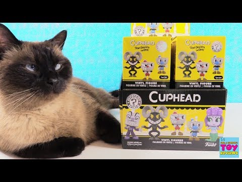 Cuphead Funko Mystery Minis Game Vinyl Figure Unboxing   PSToyReviews