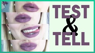 TEST & TELL: EMBELLISHMENT NYX Lingerie Liquid Lipstick | The Lady