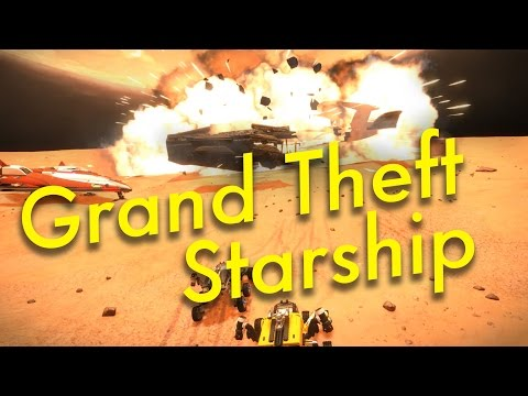 Space Tourism (Ep12) Grand Theft Starship | Elite Dangerous