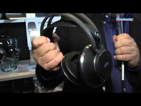 AKG K812 Mixing/Mastering Headphones Overview - Sweetwater at Winter NAMM 2014