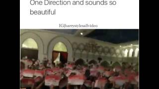 Home - One Direction (Directioners singing)
