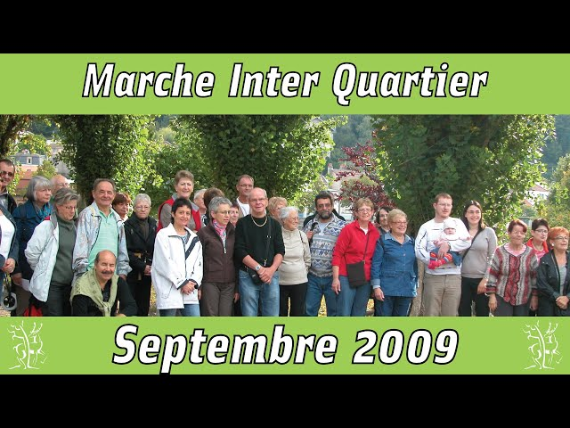 Marche inter-quartier Epinal 2009