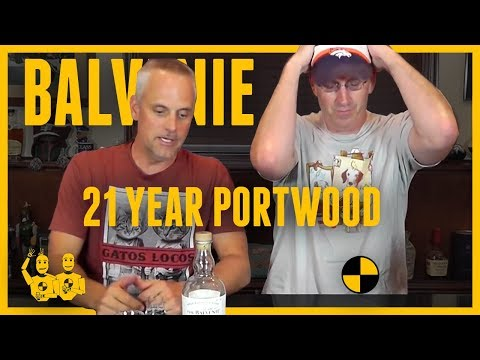 Whisky Review #208 'The Balvenie PortWood 21 Year' & a Norlan Glass Scotch Test Dummies -YouTube