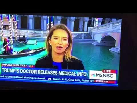 MSNBC's Katy Tur Gets Video Bombed By Vegas Venetian Hotel Gondola Driver