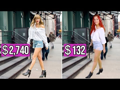 Download Lagu  Dressing Like Taylor Swift for Under $200 – Celeb Twinning Challenge Mp3 Free