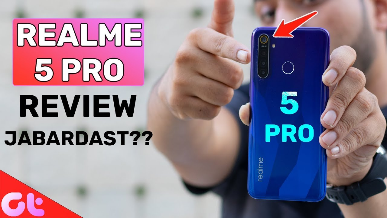 Realme 5 Pro Full Review with Pros and Cons   Jabardast Phone ?   GT Hindi