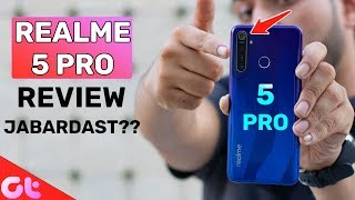 Realme 5 Pro Full Review with Pros and Cons | Jabardast Phone ? | GT Hindi