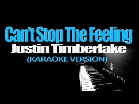CAN'T STOP THE FEELING! - Justin Timberlake (KARAOKE VERSION)