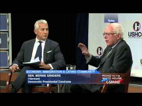 Bernie Sanders @ Hispanic Chamber of Commerce (7/30/2015)