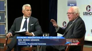 Bernie Sanders @ Hispanic Chamber of Commerce (7/30/2015)