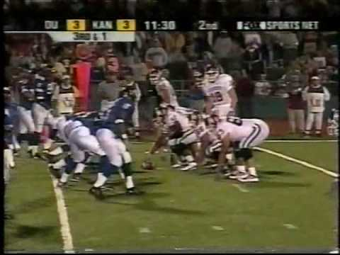 #3 Oklahoma at Kansas - 2001 - Football