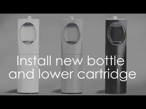 How To Change The AquaEase Water Cartridge In The Lumina Water Dispenser | ReadyRefresh By Nestlé