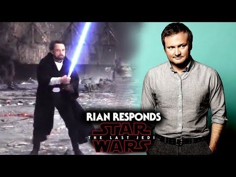Rian Johnson Responds To Fans! Star Wars The Last Jedi