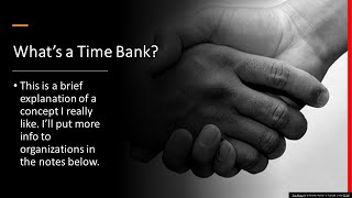What's a Time Bank?