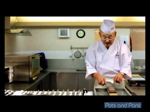 How to Sharpen Global Knives with Mino Tsuchida