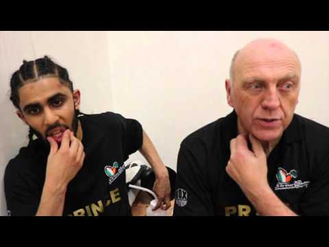 PRINCE PATEL RETURNS WITH NEW TRAINER  HARROW WIN, BARRY JONES TV CONFRONTATION EDWARDS & NORMAN