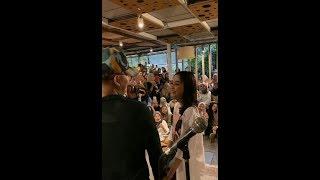 Detik detik Rizky Febian Tarik dan Nyanyi bareng pacarnya Azel di Bandung MP3